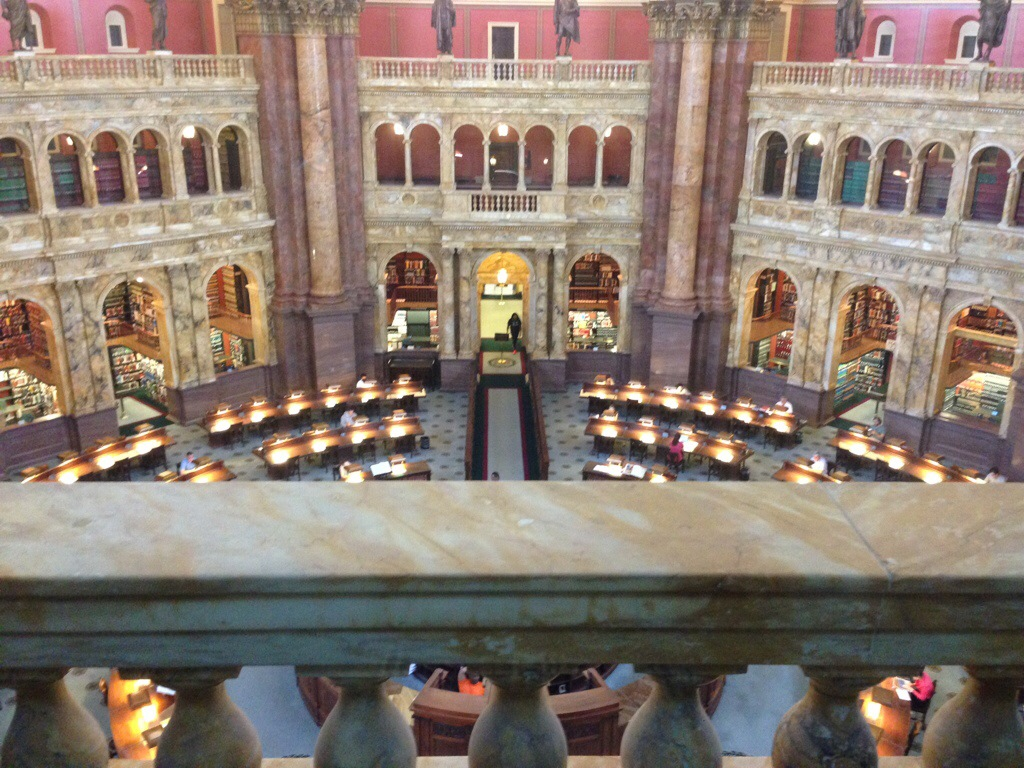 Touring the Library of Congress, US Capitol, and the WhiteHouse