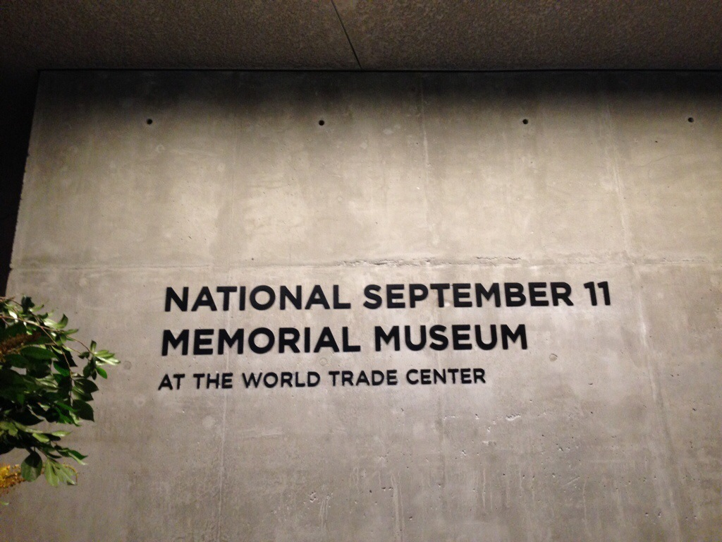 Death and Tears: 9/11 Memorial Museum