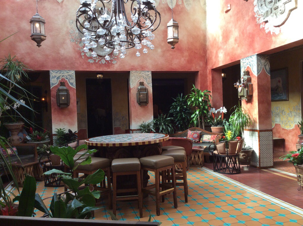 Fonda San Miguel, an old world hacienda in Austin