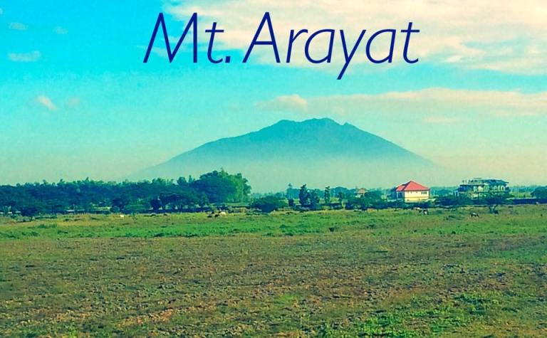 We passed by Mt Arayat on our drive from Manila to Vigan