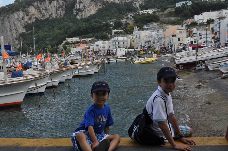 the island of capri scary bus ride to anacapri and the terrifying
