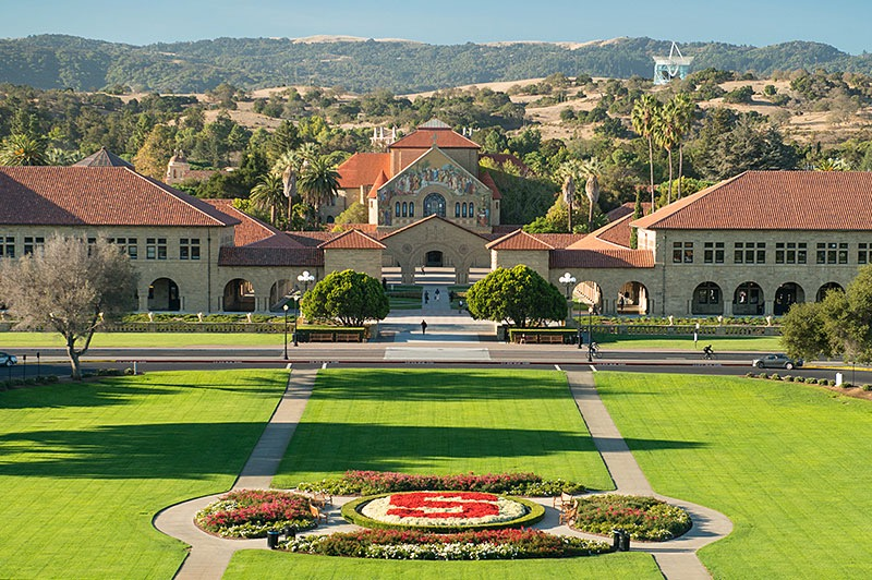 California dreaming: Stanford University