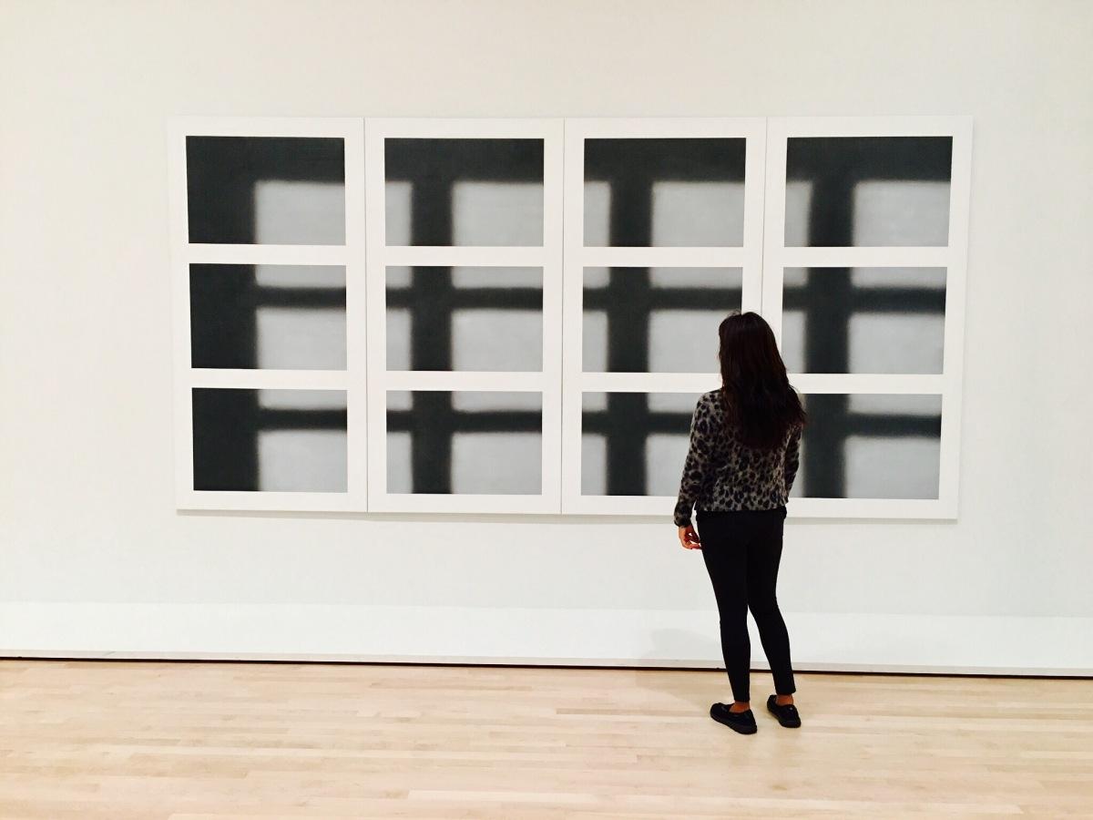 """Huh! You like modern art?"" @SFMOMA (San Francisco Museum of ModernArt)"