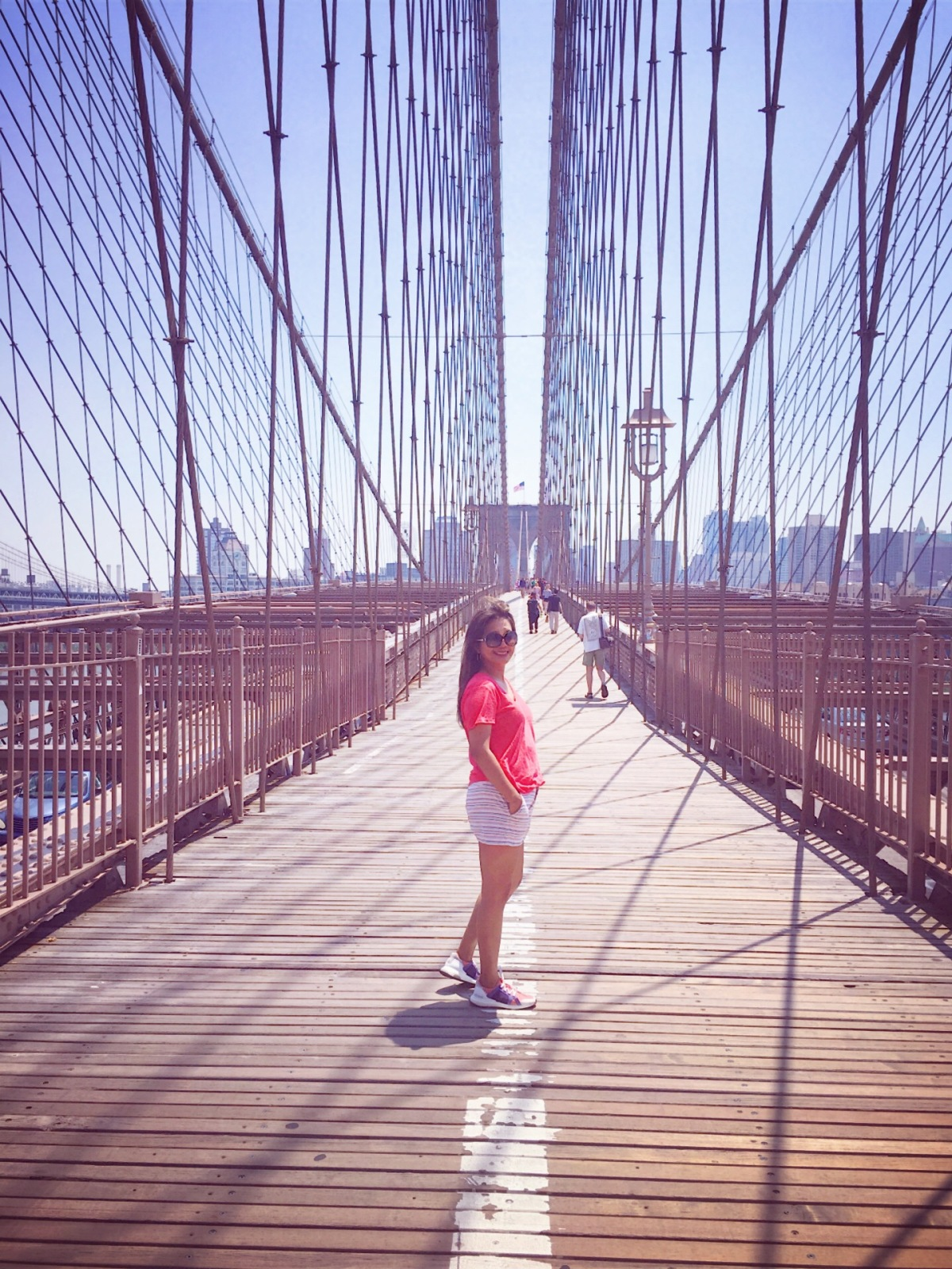 A Reflection on life while crossing the Brooklyn Bridge