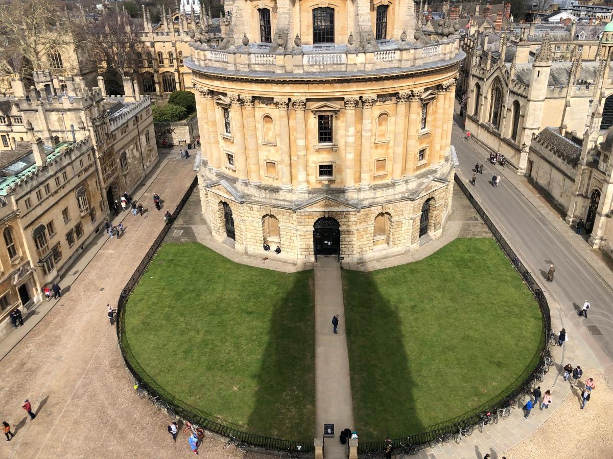 Exploring Oxford University, Day1