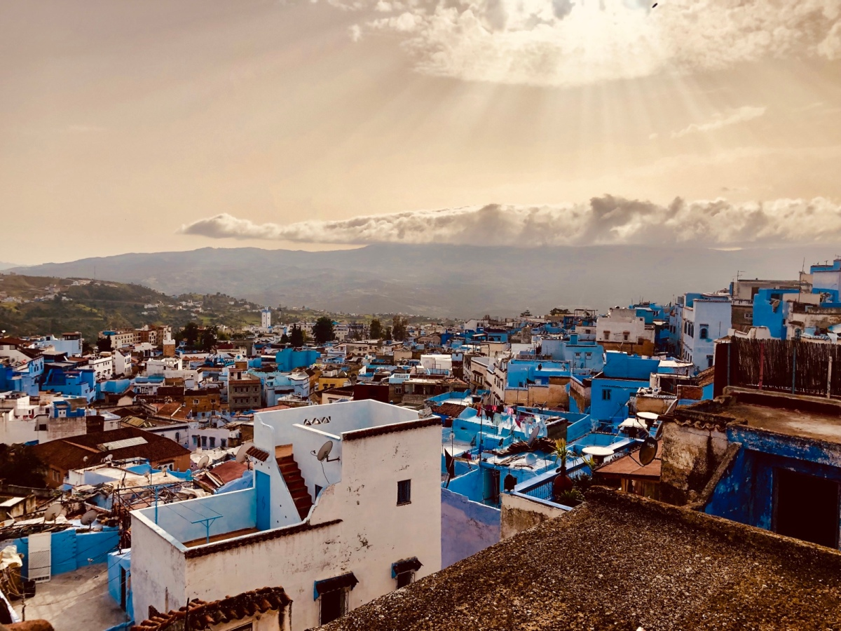 Not-so-blue in Morocco's Blue City: Chefchaouen
